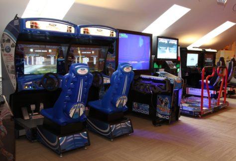 Аркадные автоматы в загородном отеле ГРУМАНТ Resort & SPA, недалеко от Москвы, Тула, д. Грумант