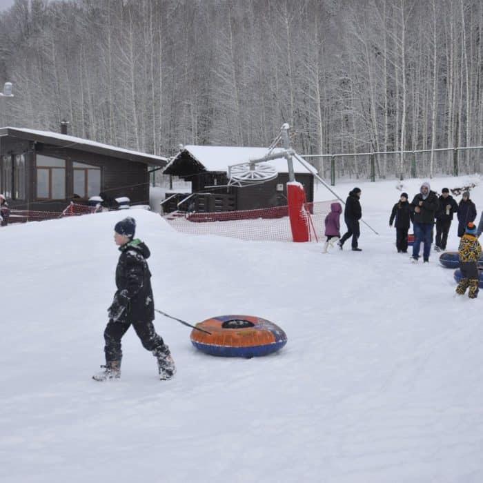Активный зимний отдых в отеле ГРУМАНТ Resort & SPA
