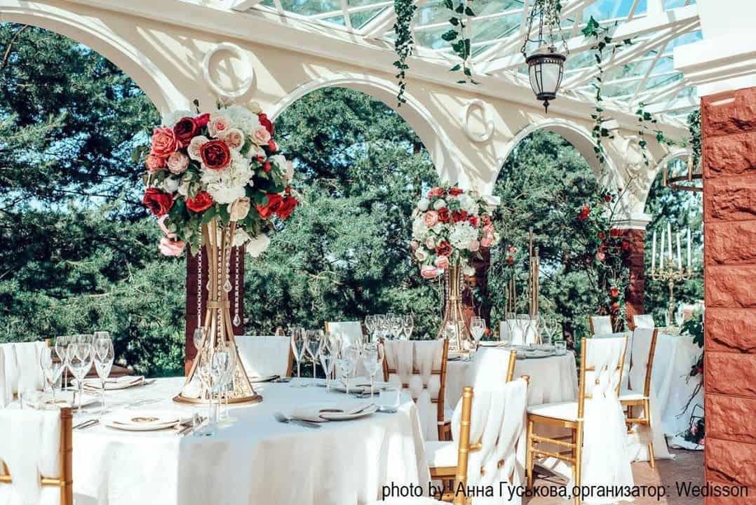 Свадебный банкет в загородном отеле ГРУМАНТ Resort & SPA