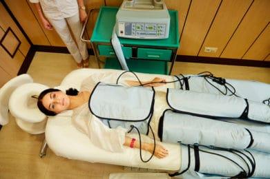 Прессотерапия, медицинские и СПА услуги в оздоровительном комплексе Грумант, недалеко от Москвы, Тула, д. Грумант