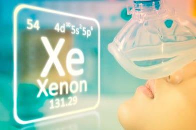 Ингаляция кислородно – ксеноновой смеси